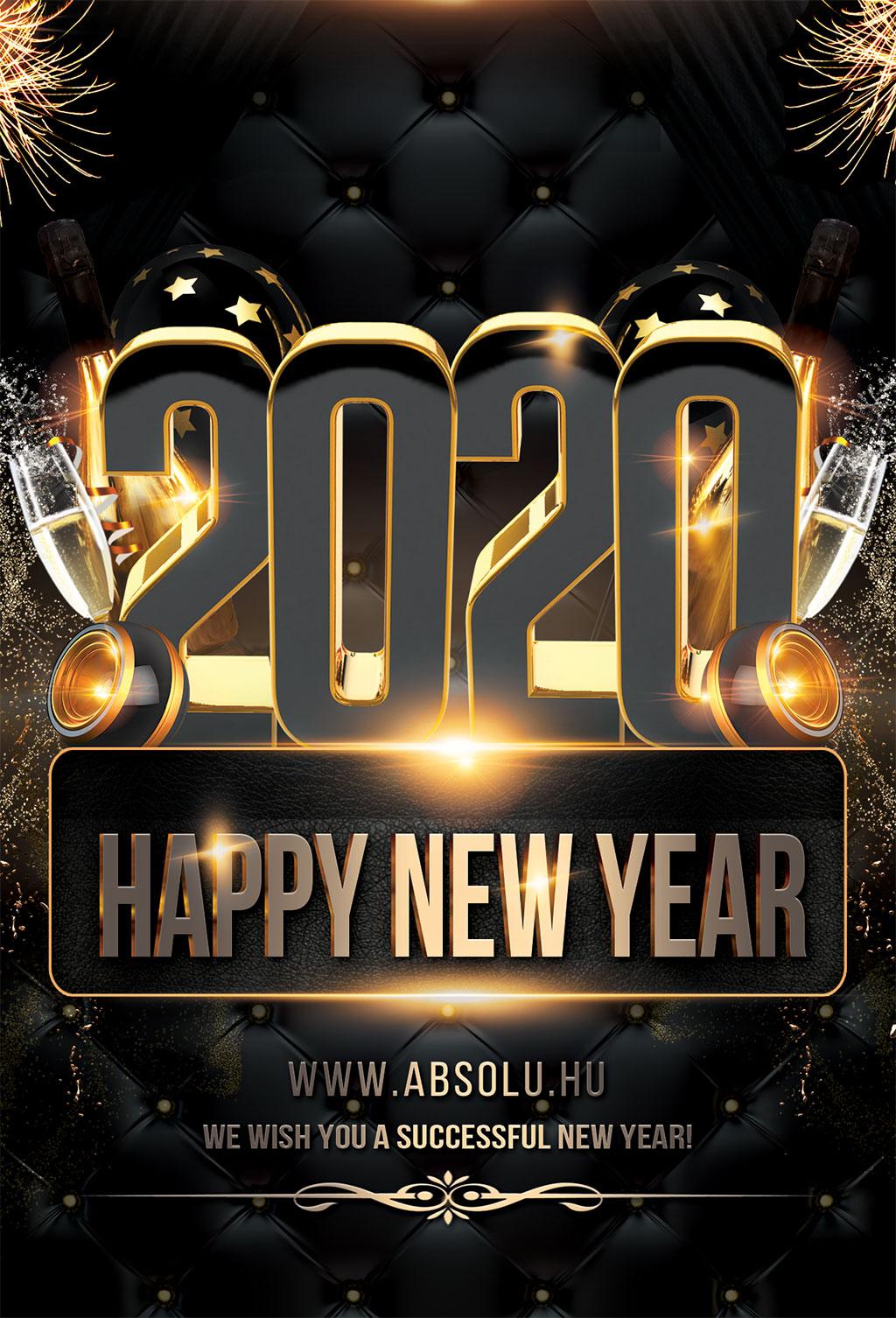 Boldog és sikeres új évet kívánunk!